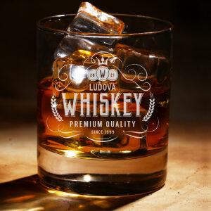 viskovka s gravírováním